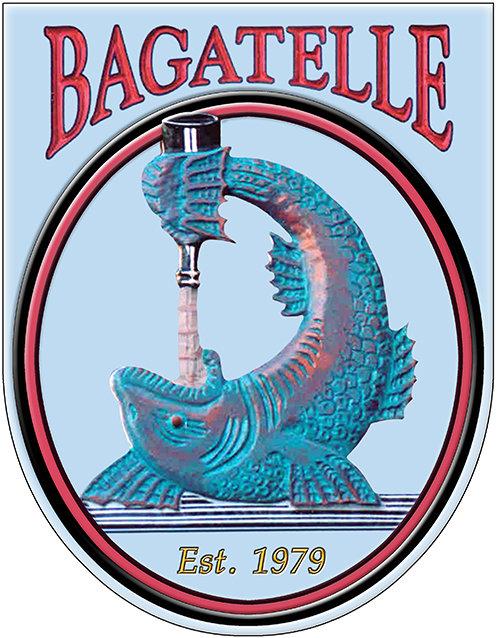 BAGATELLE FISH * 8'' x 11''