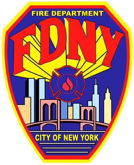 NEW YORK FIRE DEPT * 8'' x 11'' 10616