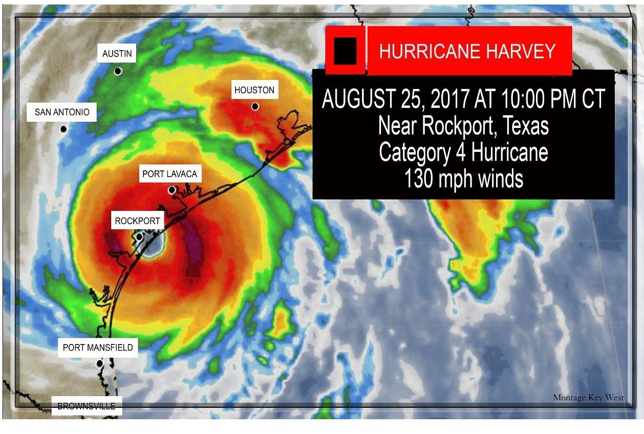 "Hurricane Harvey 7"" x 11"" 10665"