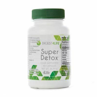 4Life Super Detox - lever ondersteuning & ontgifting