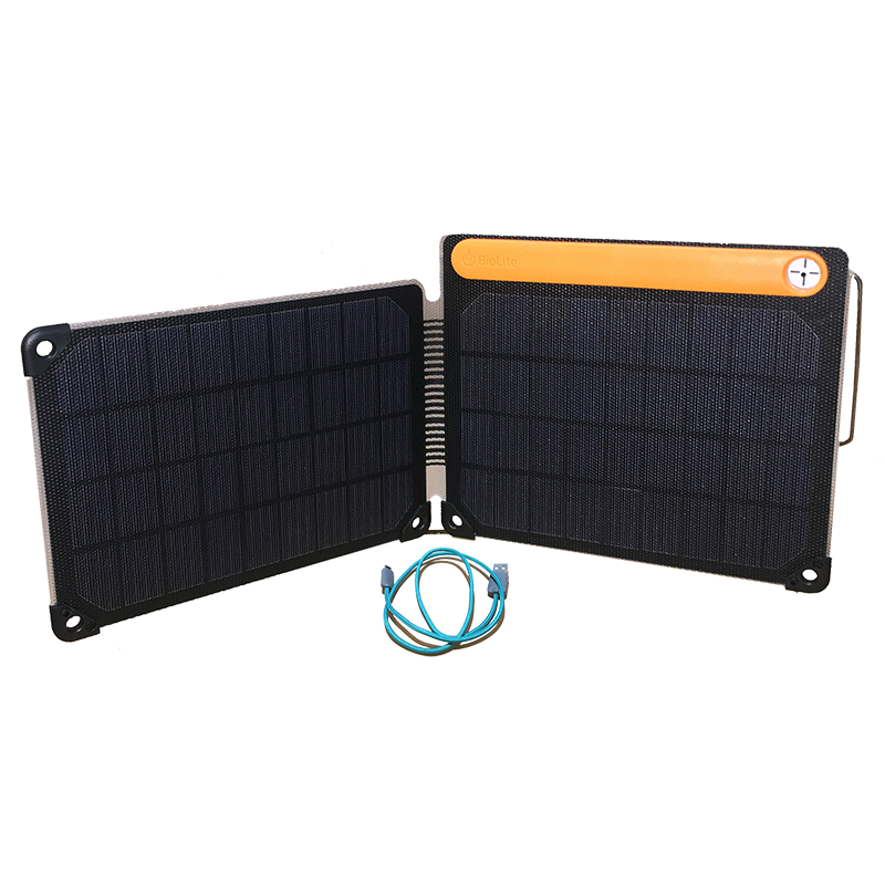 Solar Panel 10+ c/w Battery Storage by BioLite