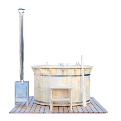 Wood Fired Hot Tub (spruce)