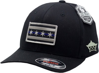 Chicago Flag Blue Line Flex Fit Hat