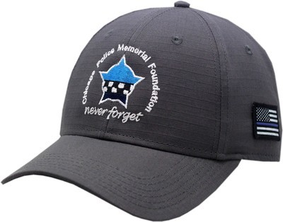 CPD Memorial Ripstop Adjustable Hat Subdued Grey 19-1266