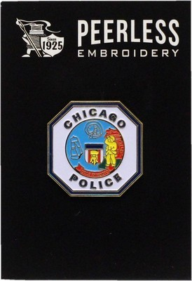 Chicago Police Octagon Lapel Pin