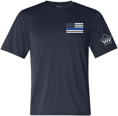 CPD Memorial Blue Line Performance T-Shirt