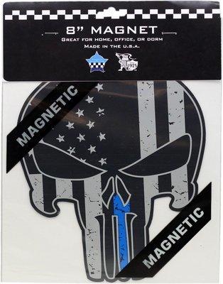 Punisher Blue Line Magnet 8