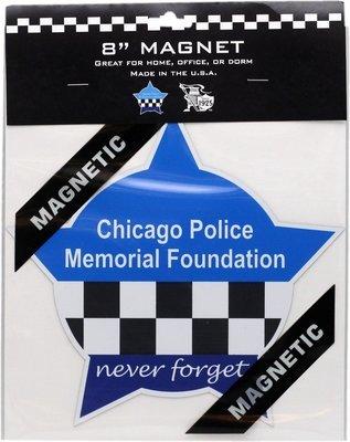 CPD Memorial Foundation Star Magnet 8