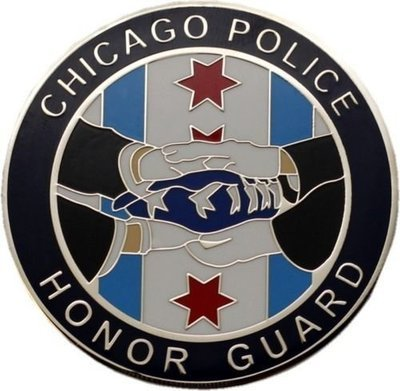 Chicago Police Honor Guard & Honoring Our Fallen Challenge Coin