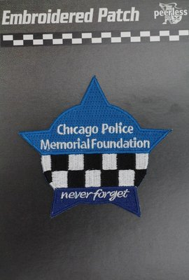 Chicago Police Memorial Foundation Star Patch