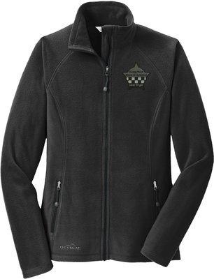Eddie Bauer CPD Memorial Ladies Microfleece Full Zip Jacket EB225