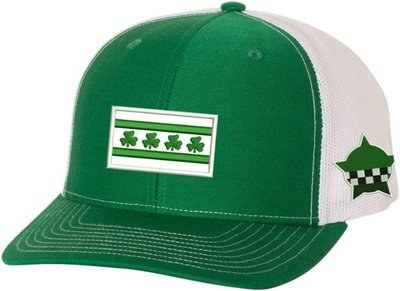 Irish Chicago Flag CPD Memorial Snapback Hat