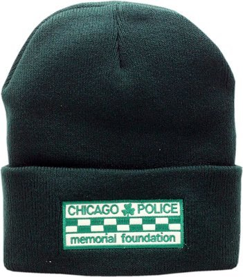 CPD Memorial Checkerboard Shamrock Cuffed Knit
