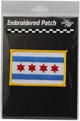 Chicago Flag Patch Full Color