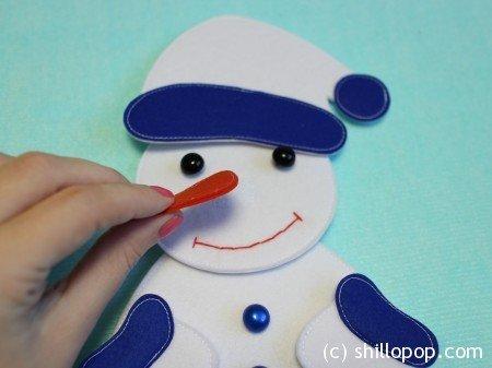 """Пазл """"Снеговик"""""""