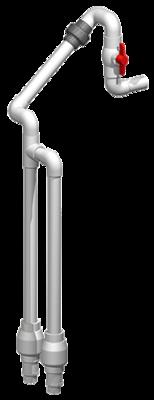 Effluent Discharge - SCH40 - High Head - 1.25
