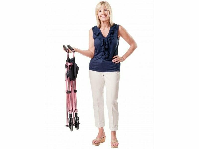 EZ Fold & Go Walker | Travel Walker | Lightweight Walker | Mobility Aid Seniors