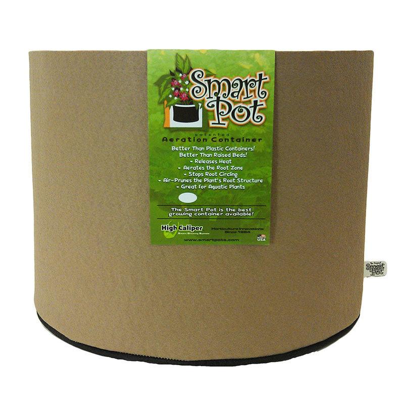 SmartPot | Aeration Container | Porous Garden Pot| Raised Planter | Breathable Plant Container| Hydroponic Gardening| 200 Gallon |Tan