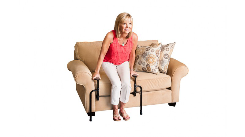 EZ Stand & Go | Couch Handles | Lift Chair Alternative | Adjustable | Mobility Aid Seniors | Stand From Sofa