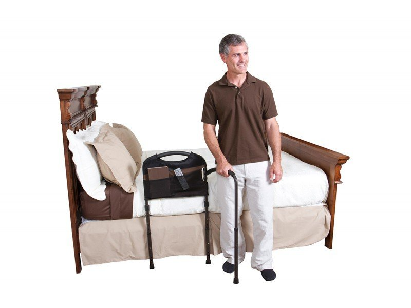 Mobility Bed Rail | Pivoting Arm | Transferring | Fall Protection | Mobility Aid Seniors| Standing Support | Walking Aid | Bed Safety