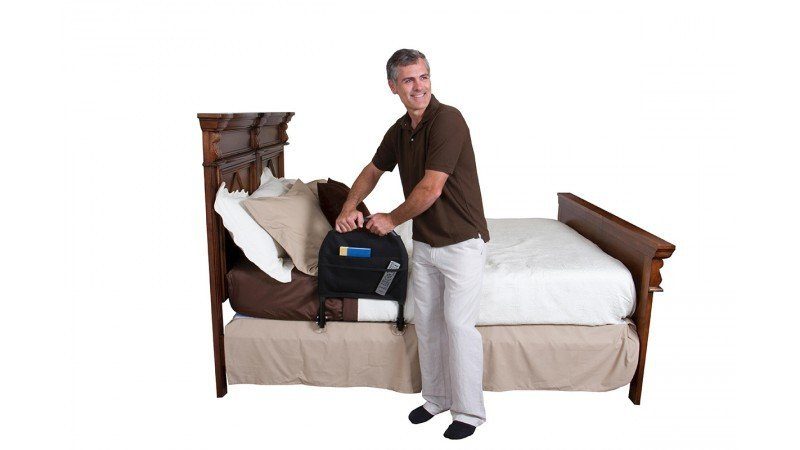 Traveler Bed Rail | Portable Bedside Handle | Advantage Traveler | Stander | Mobility Aid Seniors | Bed Safety | Senior Travel