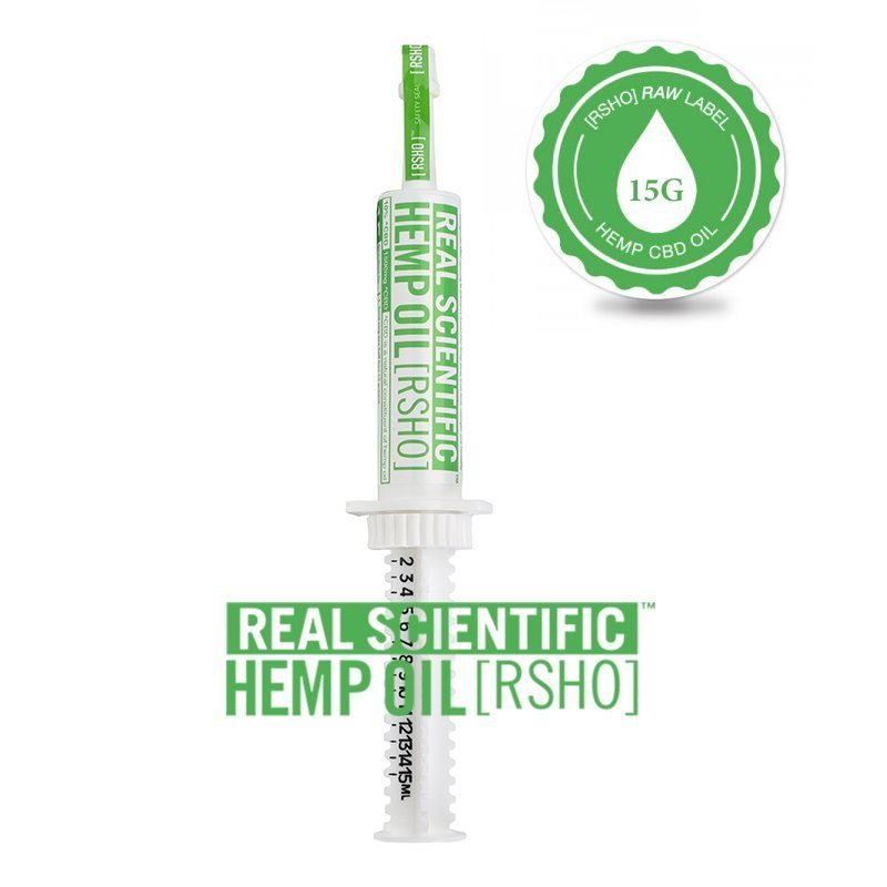 CBD Hemp Oil   Oral Concentrate   RSHO Green Label   3g Applicator   Hemp Oil Concentrates   Pure Hemp Oil