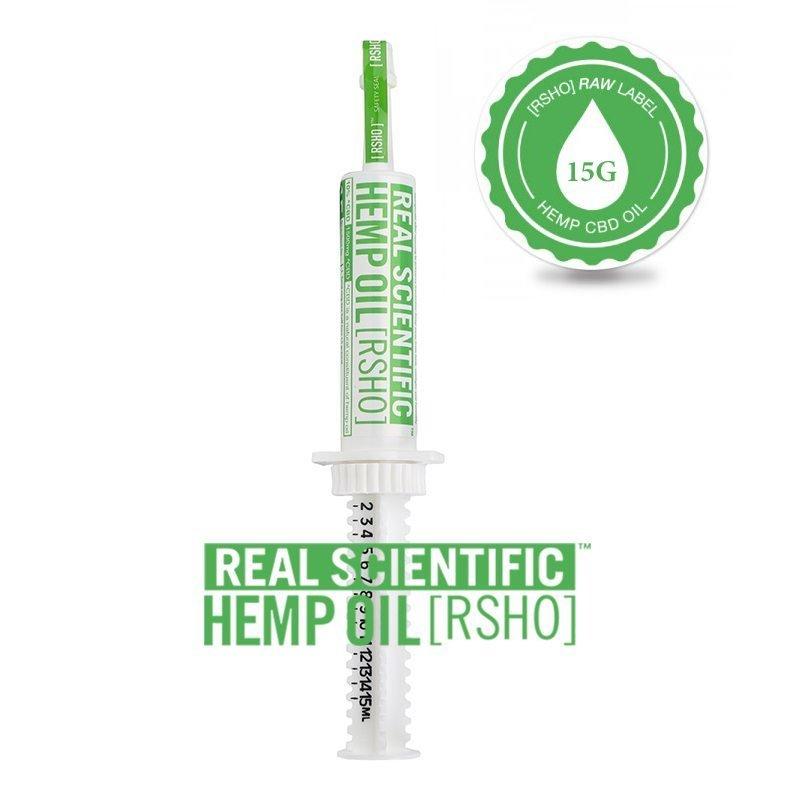 CBD Hemp Oil | Oral Concentrate | RSHO Green Label | 15g Applicator | Hemp Oil Concentrates | Pure Hemp Oil