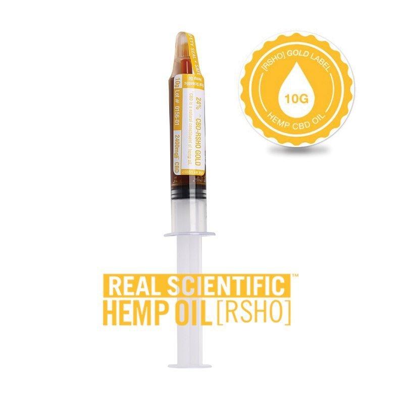 CBD Hemp Oil | Oral Concentrate | Gold Label RSHO | 10g Applicator | Hemp Oil Concentrates | Pure Hemp Oil