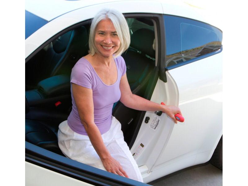 HandyBar | Door Striker Handle | Mobility Aid Seniors | Senior Travel | Auto Safety | Caregiver Safety