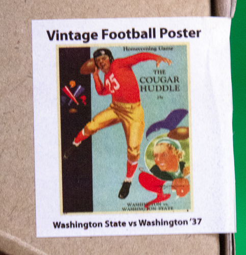 Collectible Football Poster