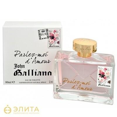 John Galliano Parlez moi d Amour eau de toilette - 80 ml