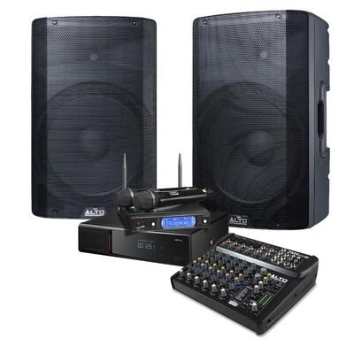 Караоке-комплект для бизнеса Mini 215+