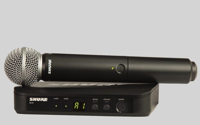 Беспроводной микрофон SHURE BLX24E/SM58 M17