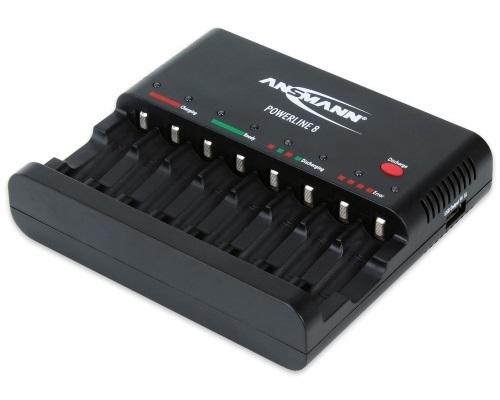 Зарядное устройство ANSMANN 1001-0006 POWERLINE 8 BL1