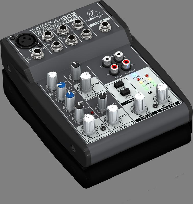 Behringer 502 аналоговый микшер, 5 каналов