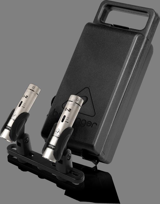 Behringer C-2 подобранная пара конденсаторных микрофонов для студии или концертной работы