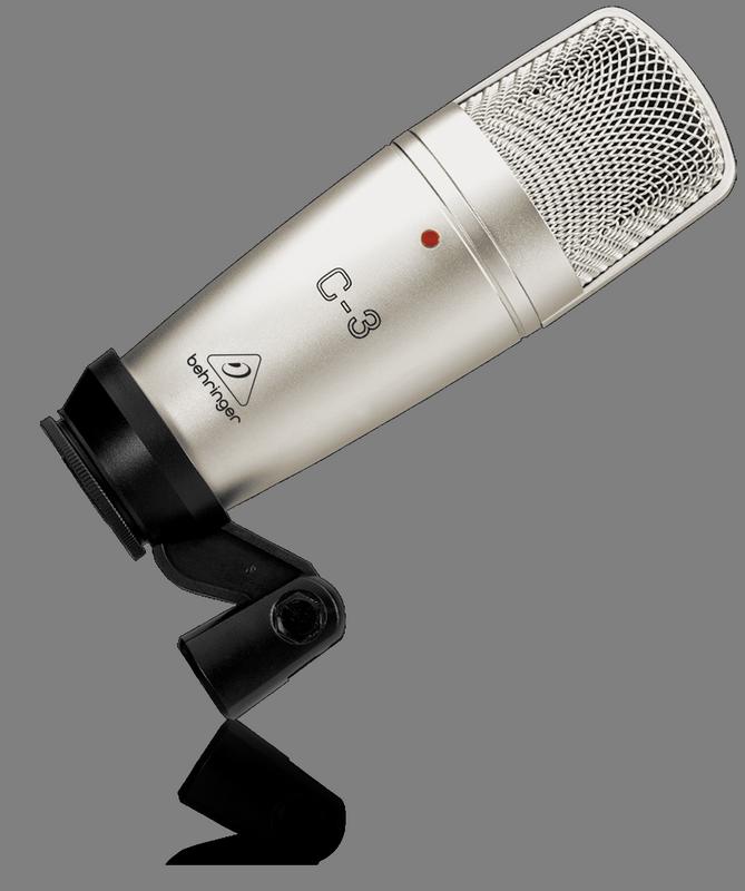 Behringer C-3 конденсаторный микрофон (кардиоида/круг/восьмерка)