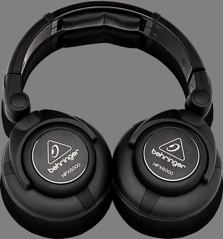 Behringer HPX6000 наушники динамические для DJ, 24Ом
