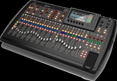 Behringer X32 цифровой микшер, 32 вх+8 возвратов, 25 фейдеров, 32 аналоговых вх/16 вых, 8FX, 16MIX, 6MATRIX, 6MUTE, 2xAES50, USB-audio