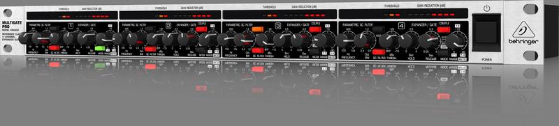 Behringer XR4400 4-канальный экспандер/ гейт с Key-фильтрами