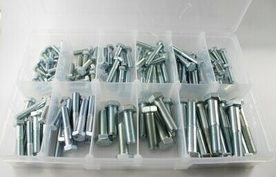 Grade 8 Steel UNF Bolt Kit - 110 Bolts