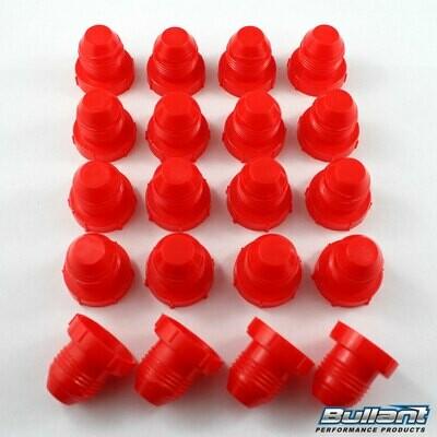 -8 AN Plastic Plug Kit - 20 Pack