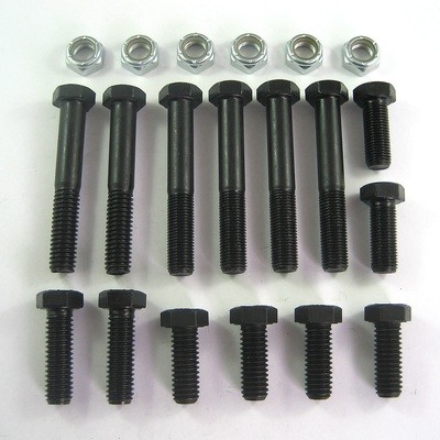 Engine & Motor Plate Bolt Kit - Grade 8 Steel