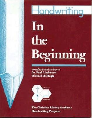 In The Beginning Handwriting (Pre-K)