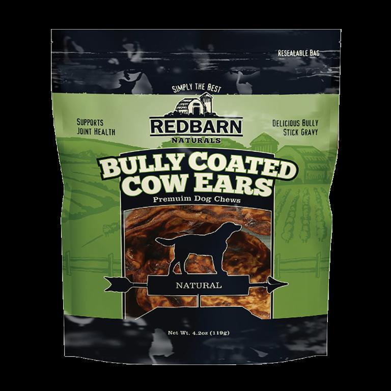 Bully Coated Cow Ears