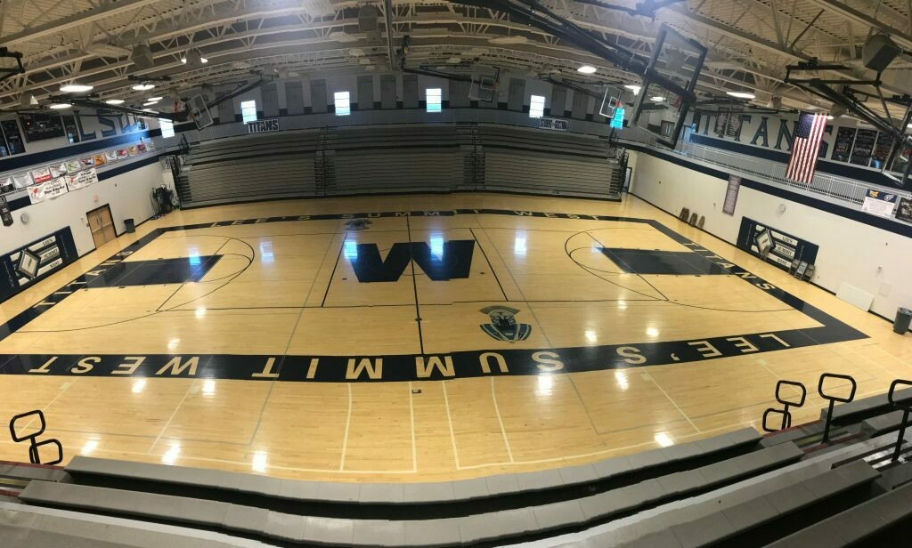Gym Floor - 10 x 16 without electricity
