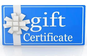 Give Sweat Gift Certificates