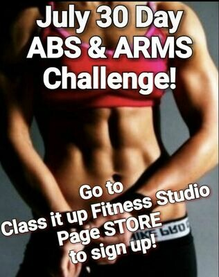July 30 Day Abs & Arms Challenge
