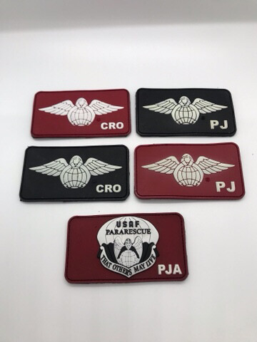 pja/Velcro Patches