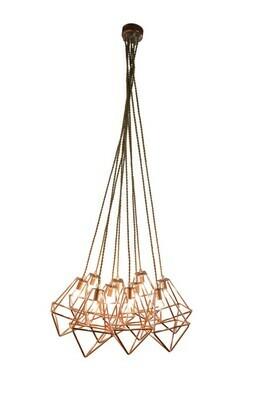 Tilos Copper 10 Suspended Pendant